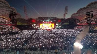 Taylor Swift - 1989 World Tour @ AAMI Park, Melbourne: 12th December 2015. Photo taken by reviewer, Ellipsis.